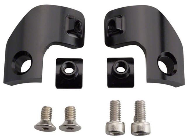 Problem Solvers MisMatch 2.2 Adapter Shimano II-Spec/SRAM Matchmaker 1 paar, black
